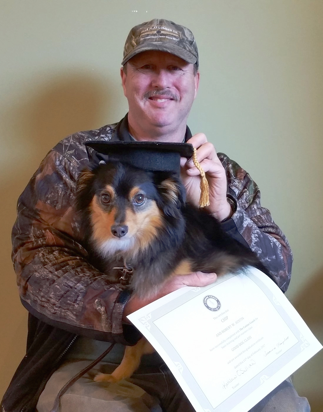 Robert & Chip graduate!