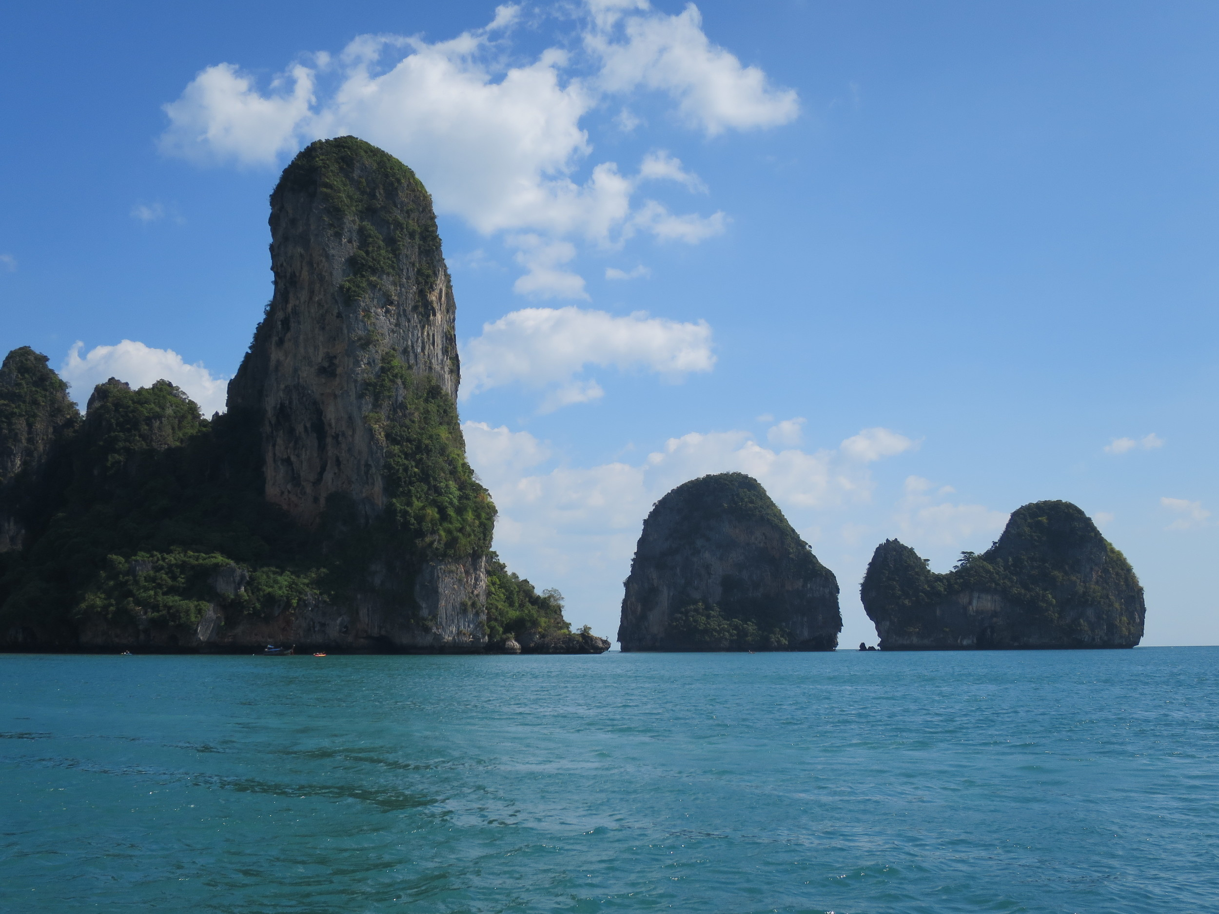 Arrival at Railay