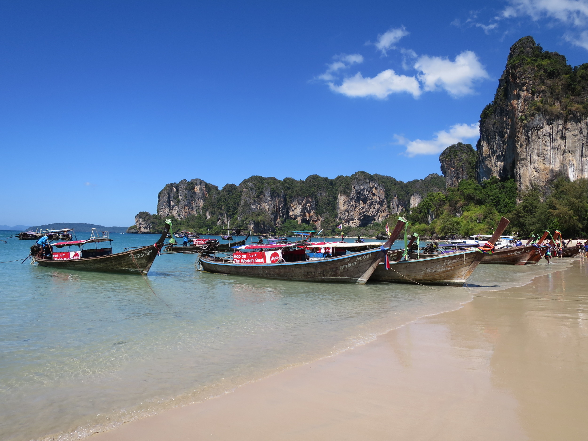 Long tails at Railay West