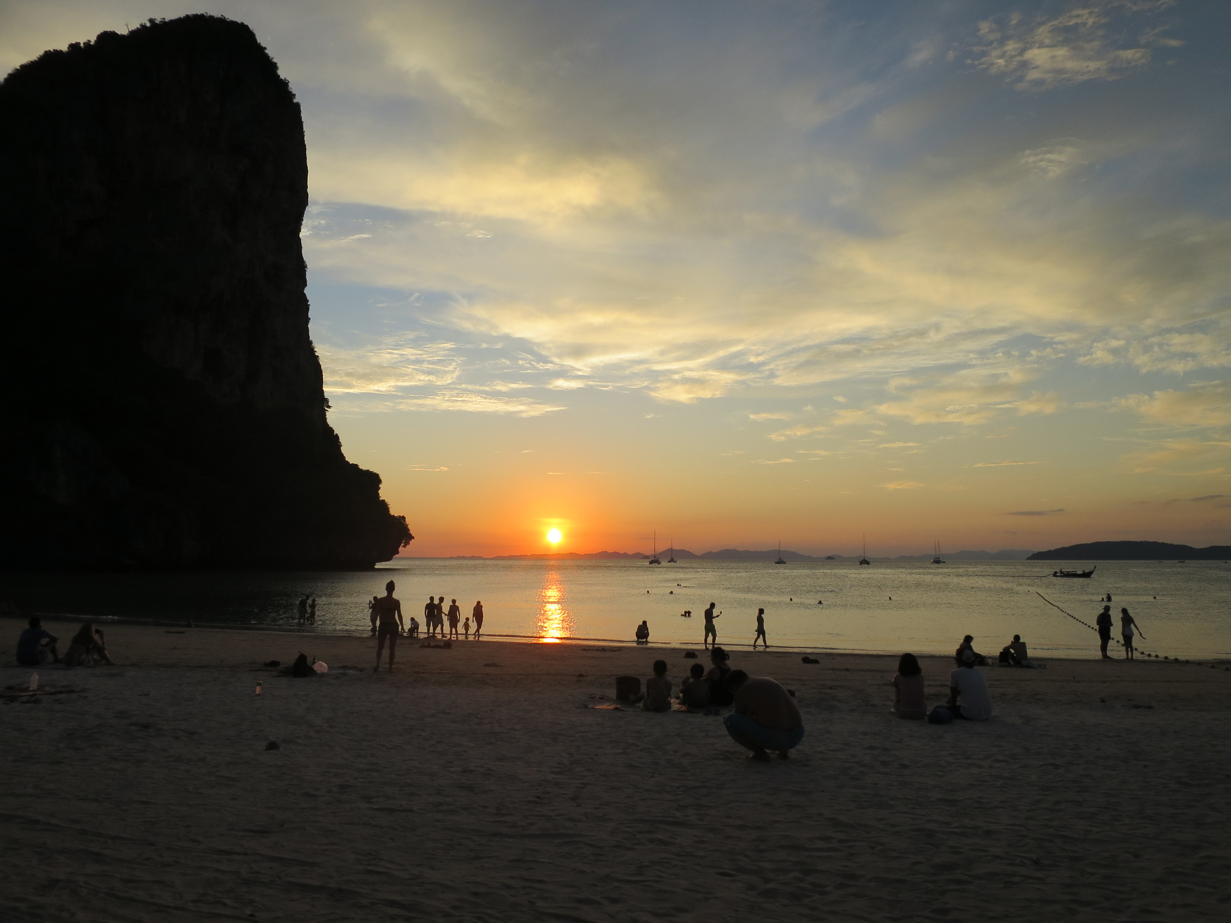 Sunset at West Railay