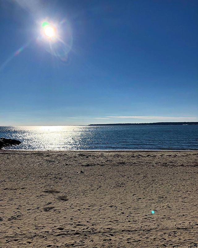 Beautiful day for a run here in Niantic Connecticut. #run #funrun #endureit #tri #swim #bike #ironman #niantic #connecticut #holidays #triathlon #asics #garmin