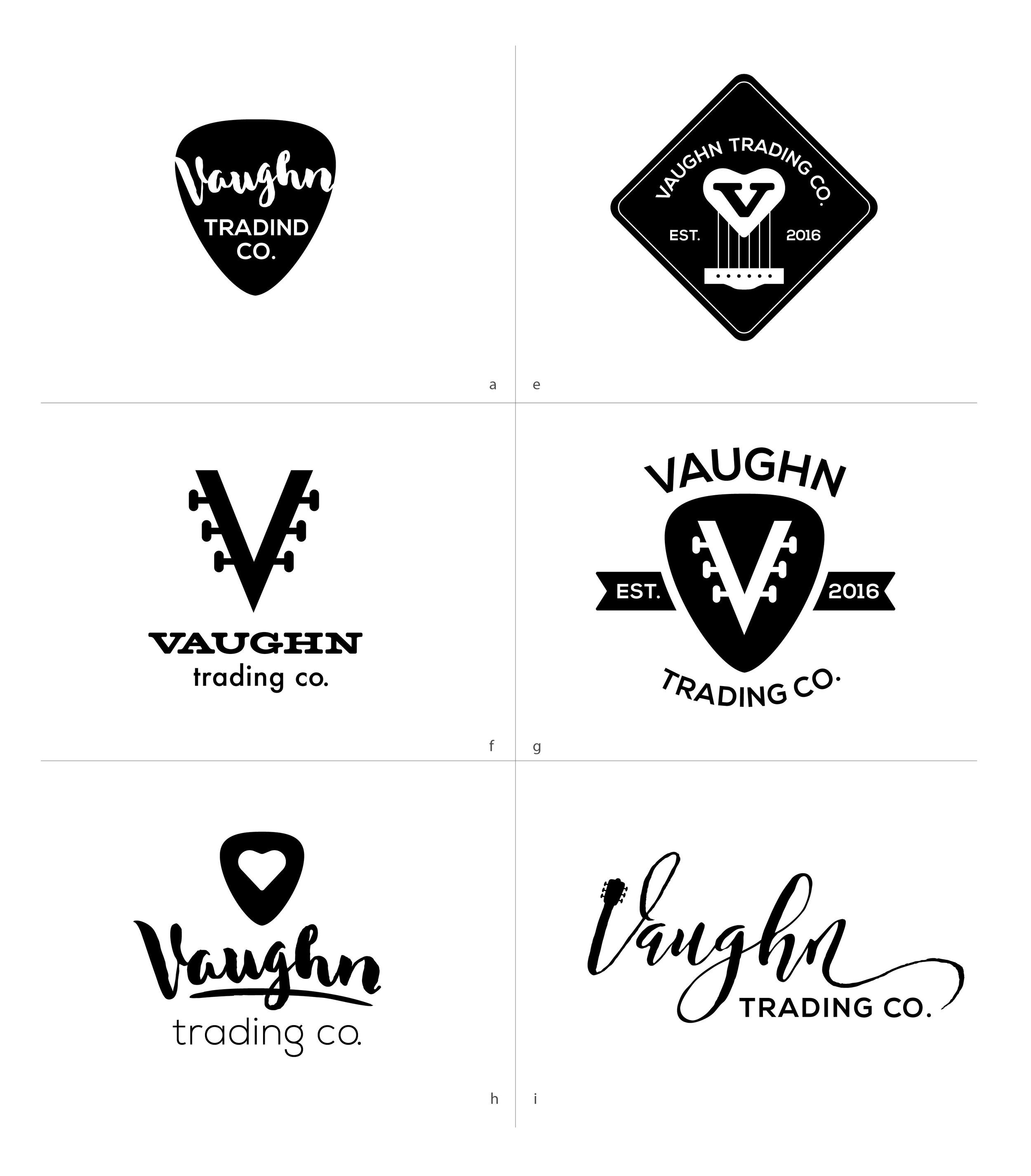 Vaughn Trading Co. Logo Design