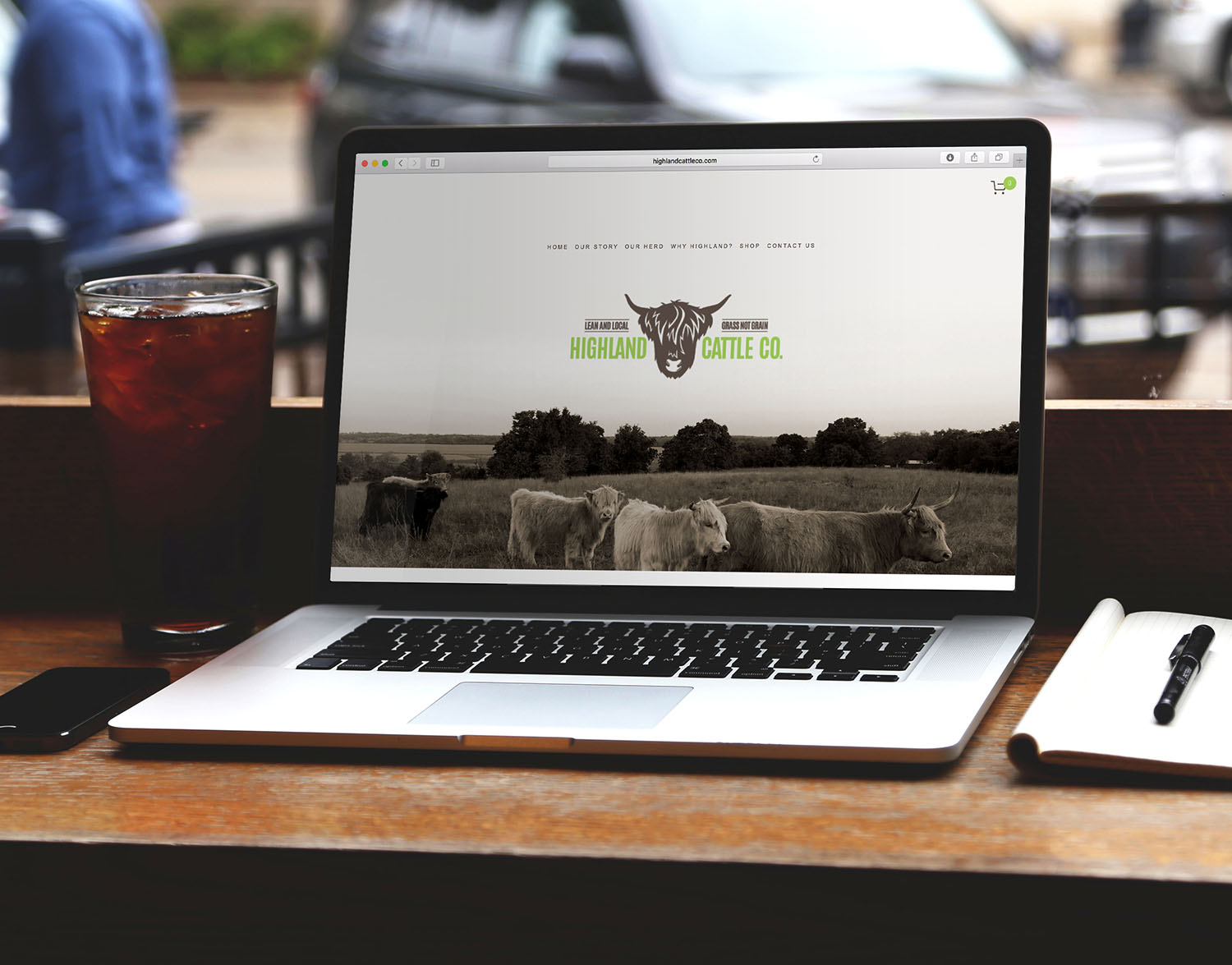 Highland Cattle Co. Website