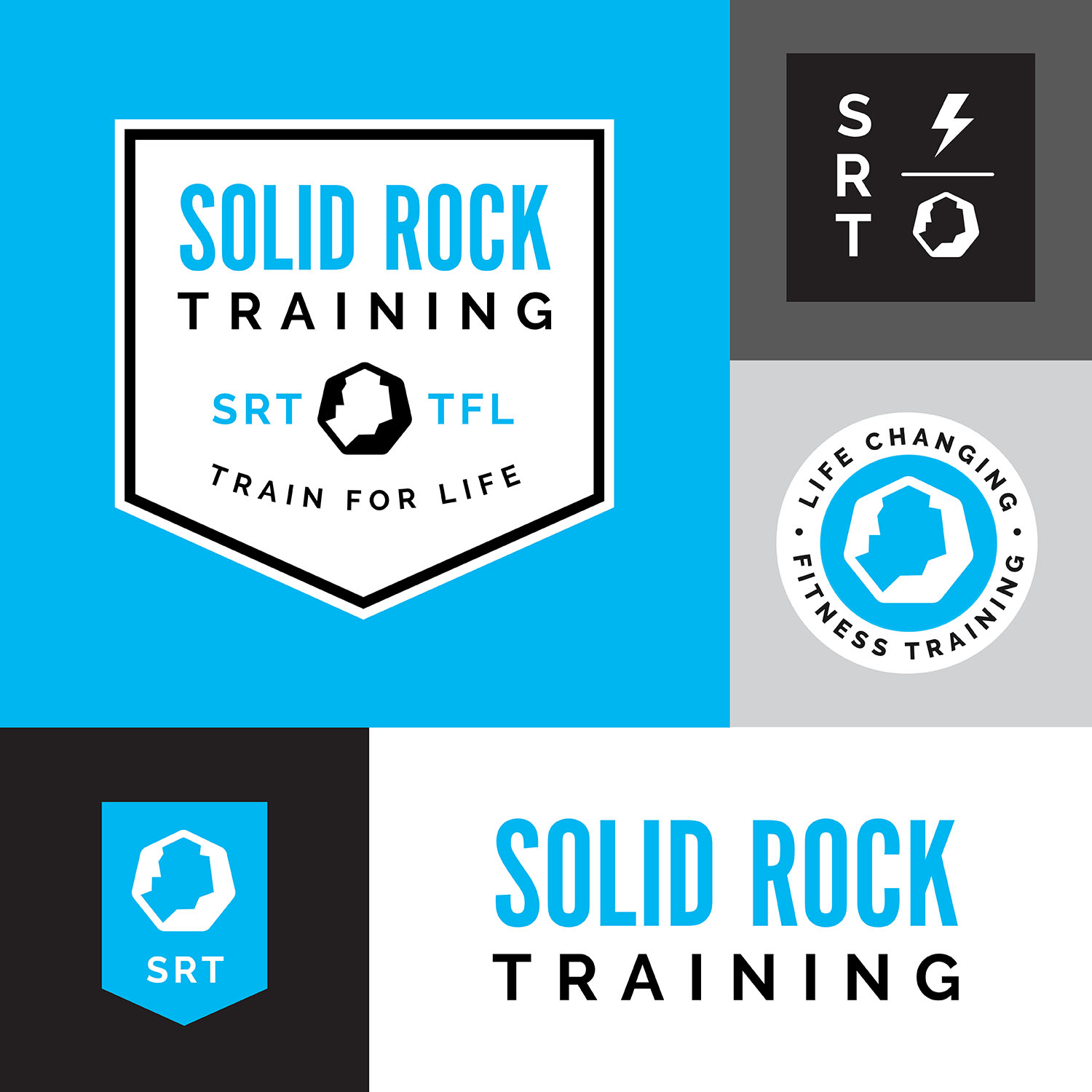 Solid Rock Training Logos