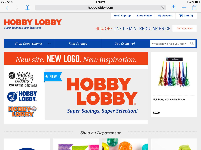 Hobby Lobby Rebranding