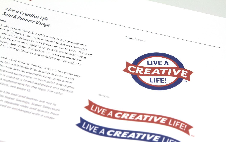 Live a Creative Life Seal
