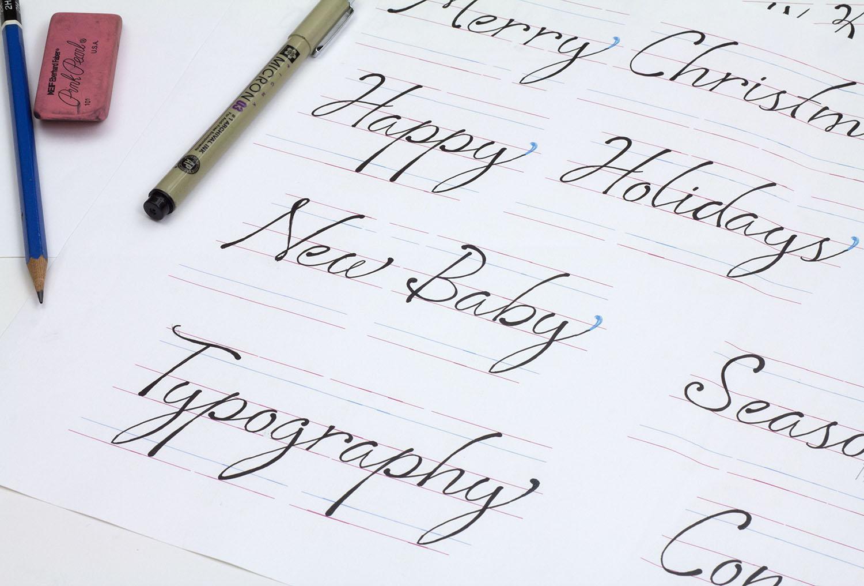 Sophie Script: Custom Typeface Design