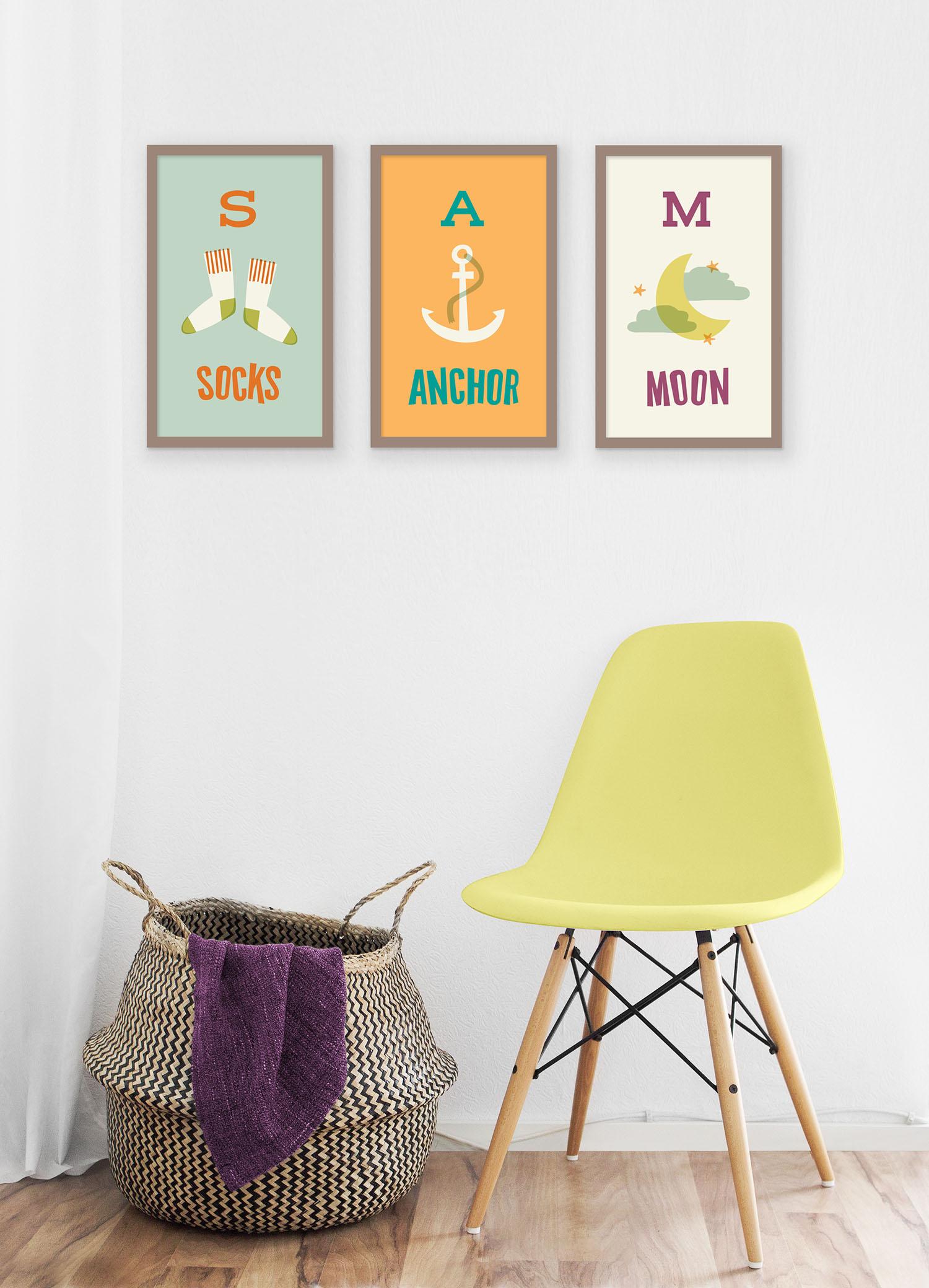 Kids Alphabet Print Series