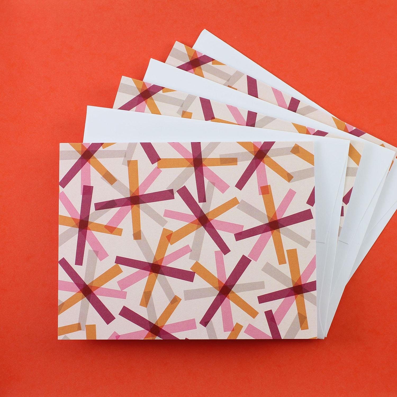 Mid-Century Mod Notecards