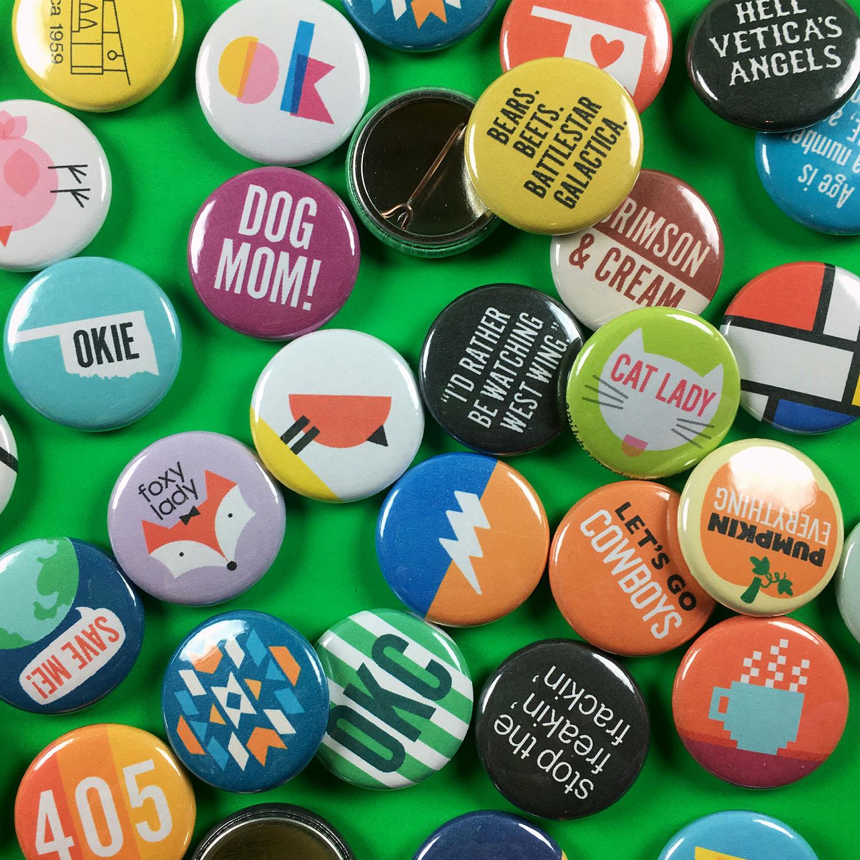 Pin-back Button Designs