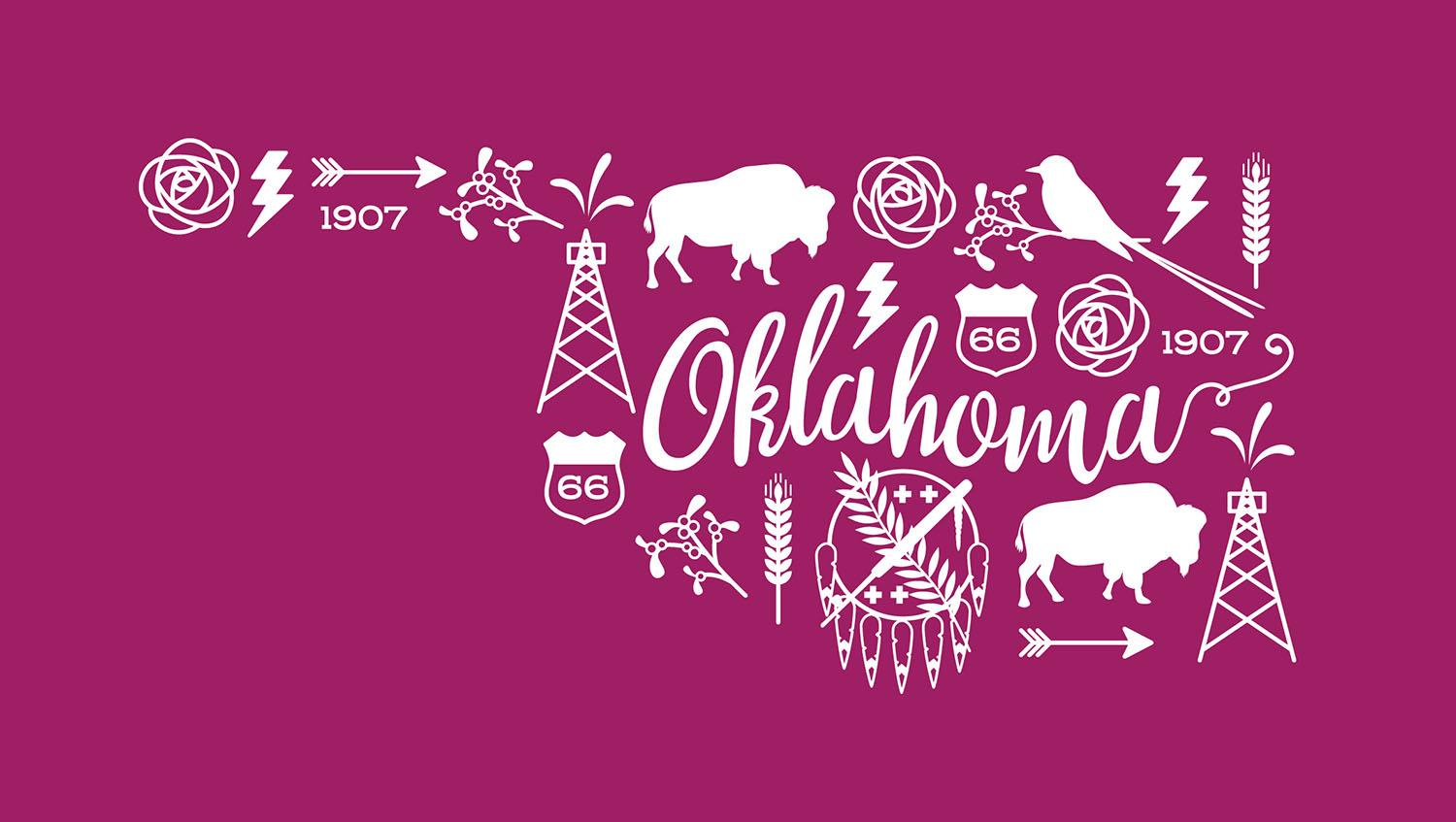 Oklahoma Illustration