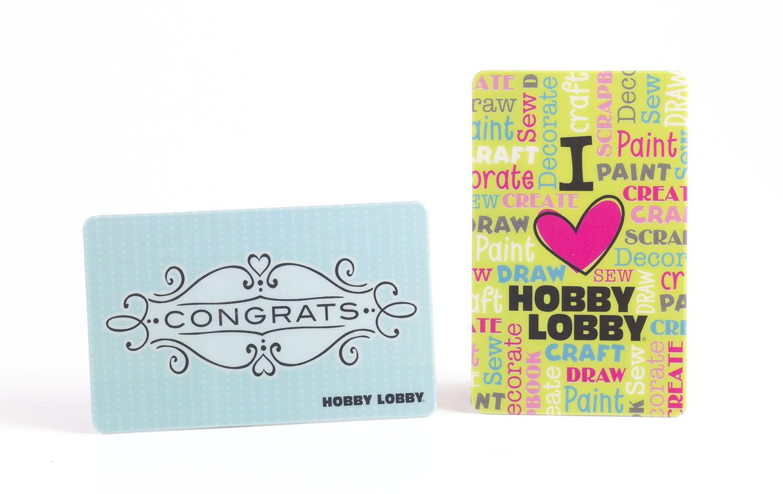 Hobby Lobby Gift Cards