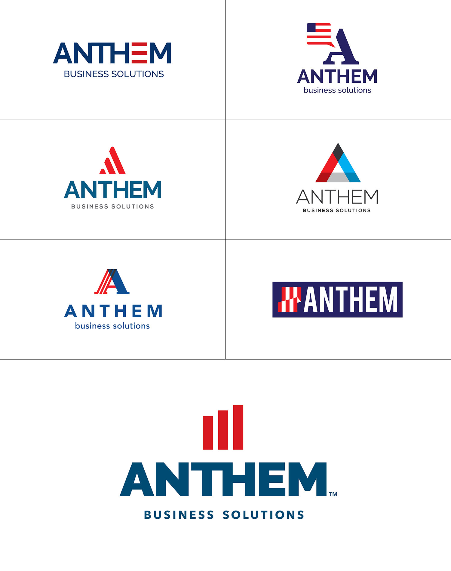Anthem Logo Options