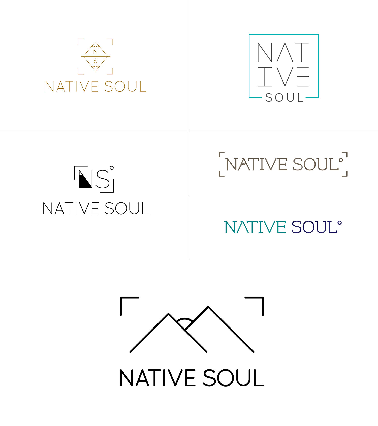 Native Soul Logo Options