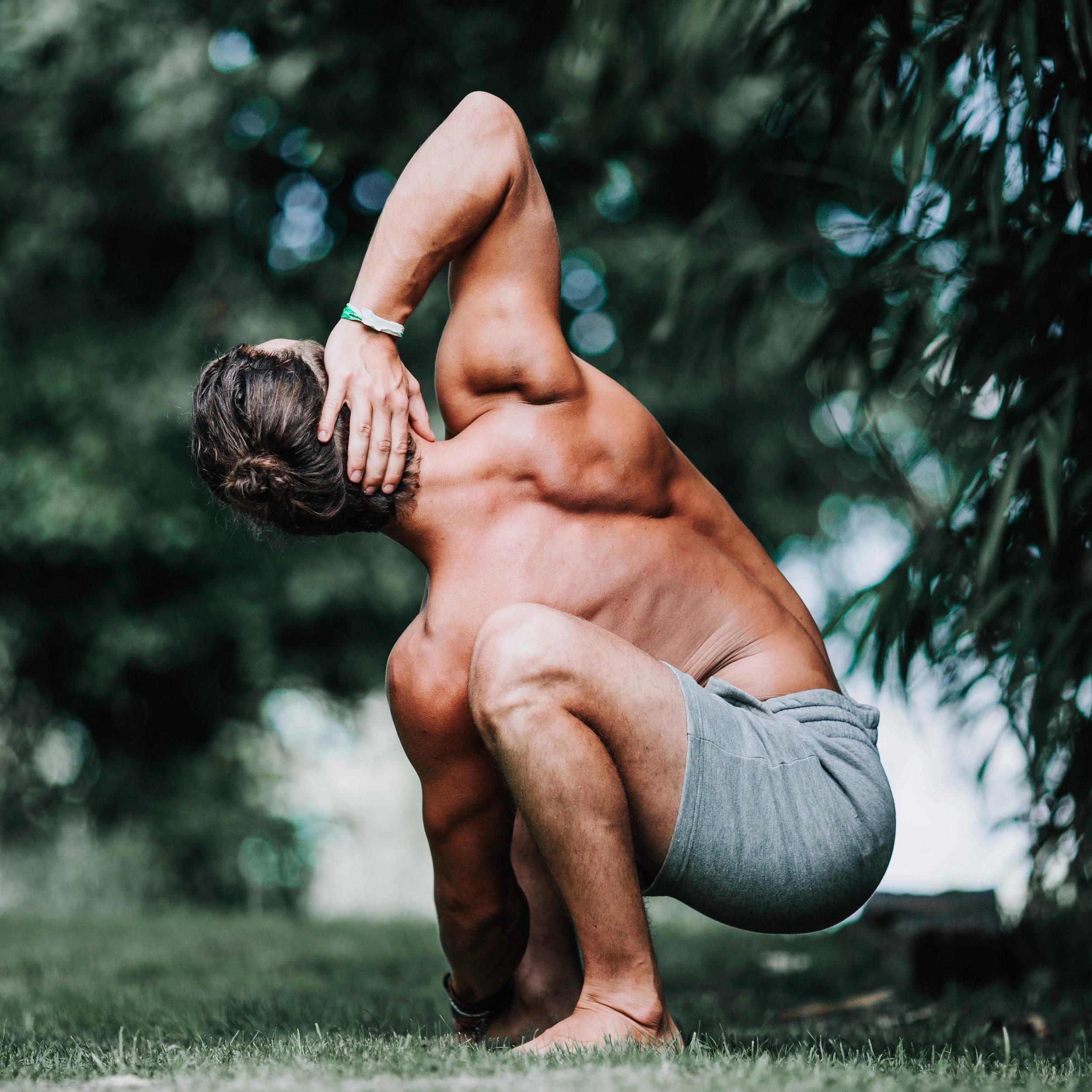 Dan Morgan Yoga | DCMLifestyle & Yoga | Malasana Twist