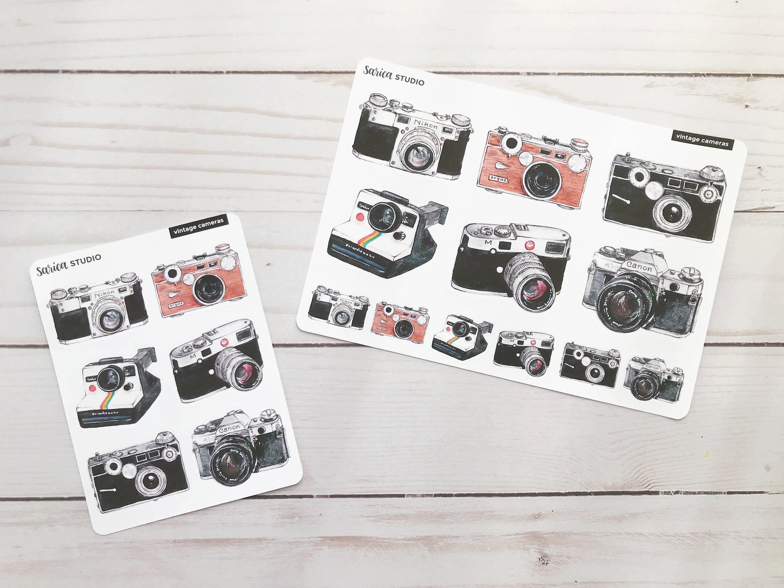 sarica_studio_camera_stickers_vintage