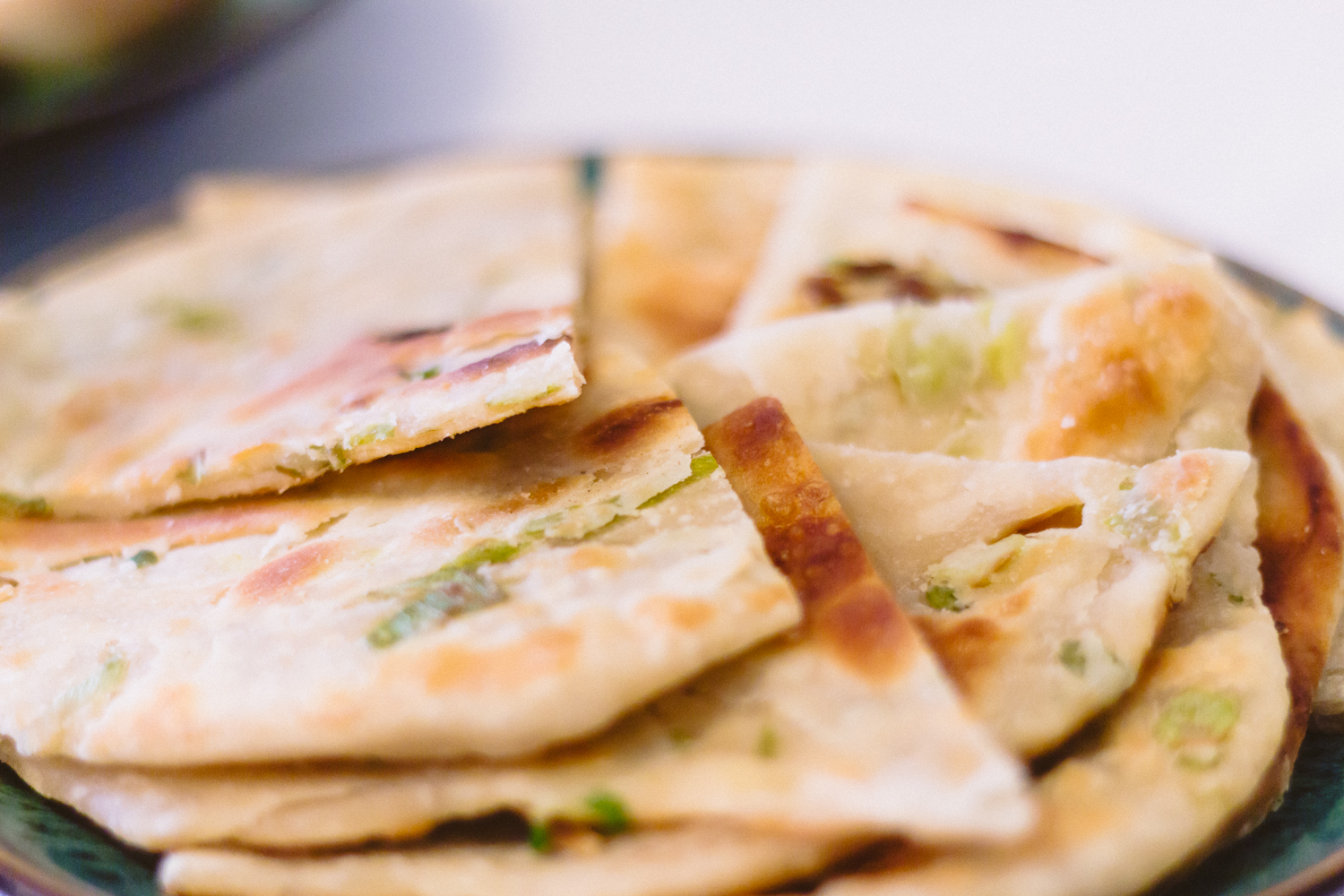 The aforementioned Scallion Pancakes