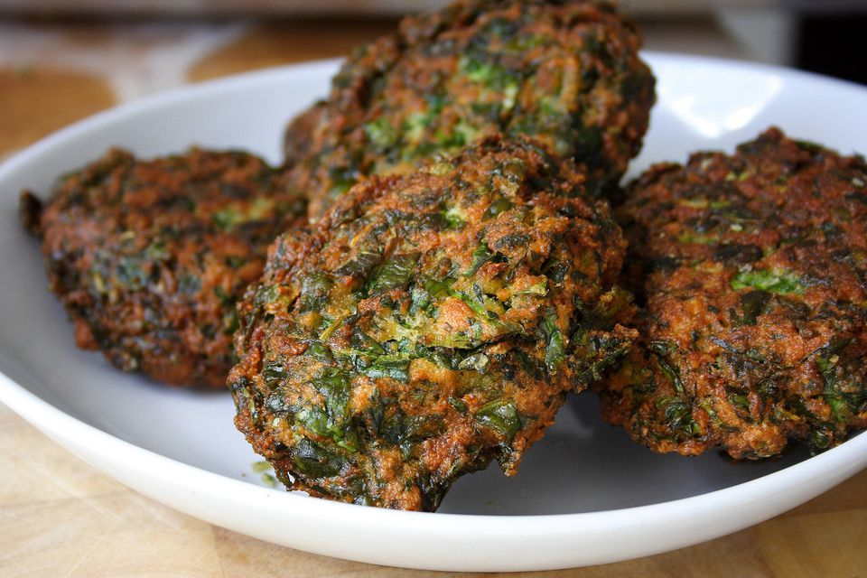 Healthy Spinach Patties