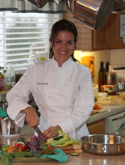 Cooking everyday is the best thing you can do for your health, for your family and the planet!      Love,    Chef Adriana
