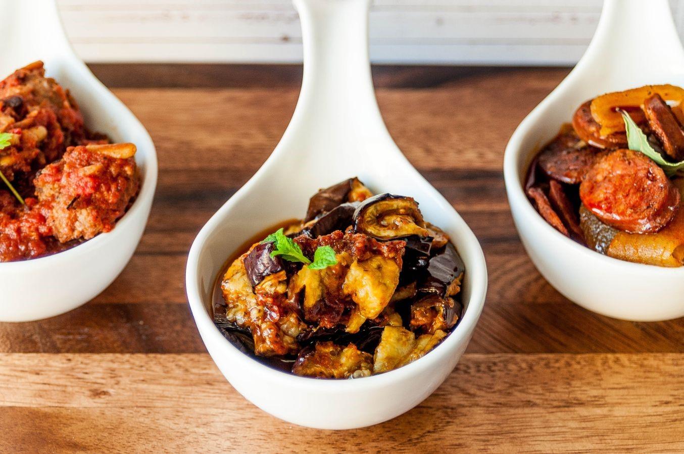 Smoked Moroccan Eggplant