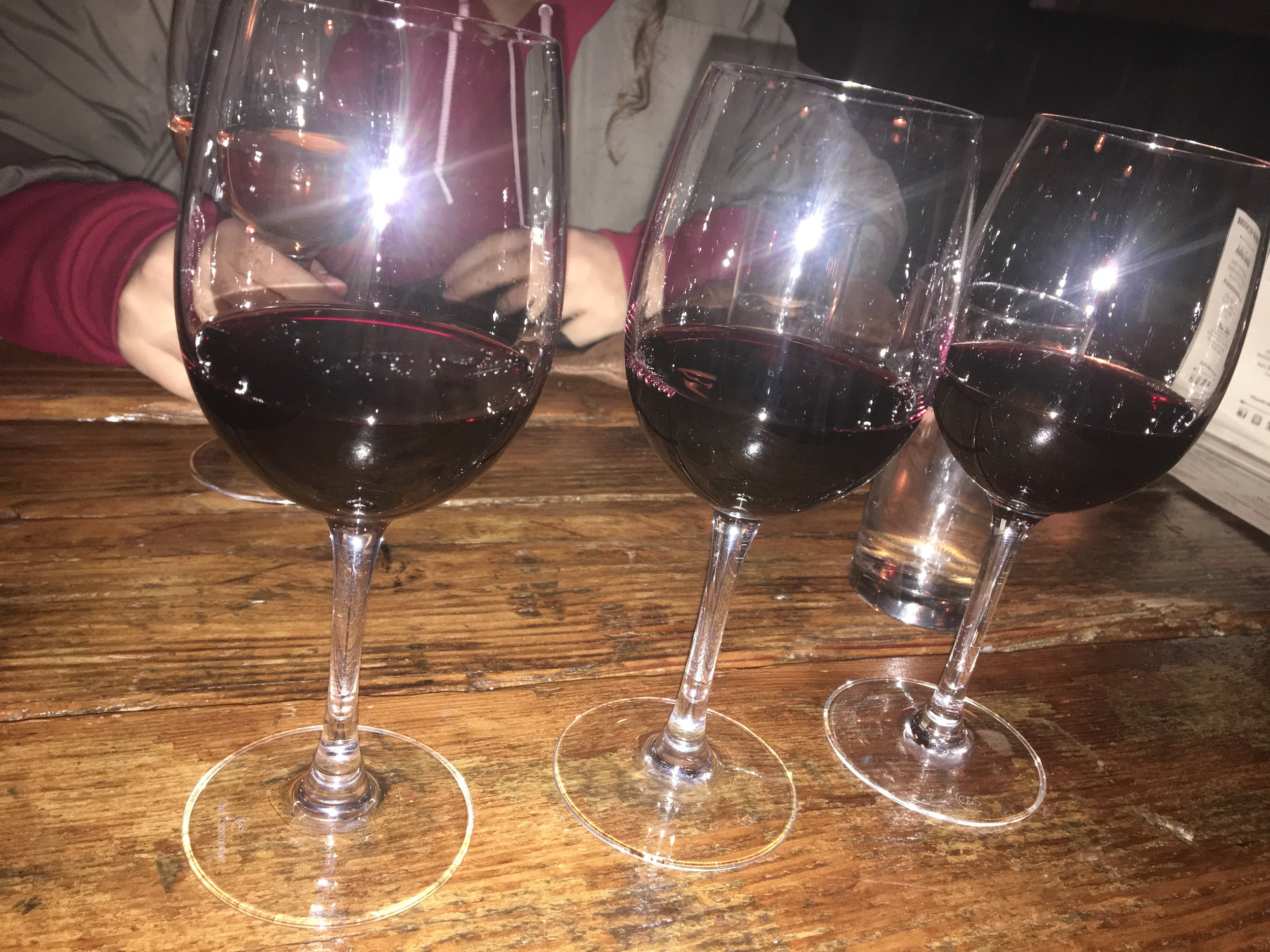 What:  Flight of Stern & Serious – Reserve Merlot, Cabernet Sauvignon – Sonoma, and Old Vine Zinfandel