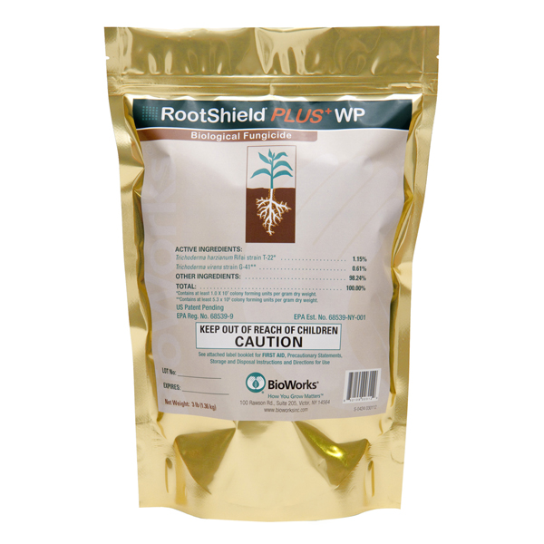 Rootshield® Plus - WP Trichoderma harzianum Rifai strain T-22 & Trichoderma virens G-41