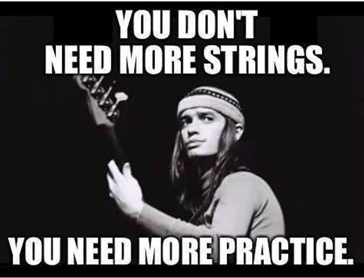 Jaco Pastorius bass player meme