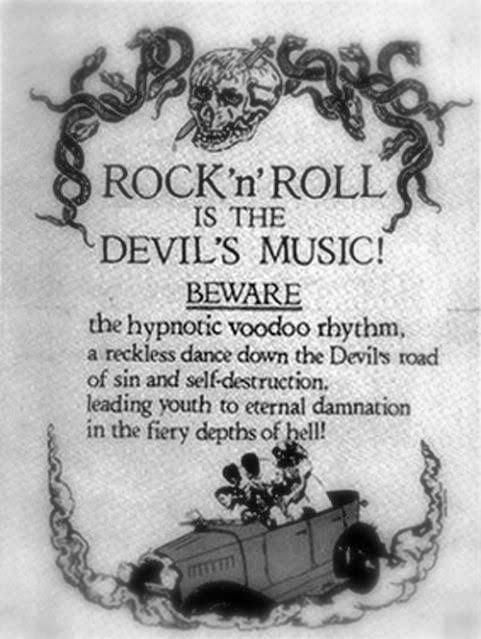 rock n roll is the devil's music
