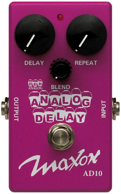 analog delay pedal