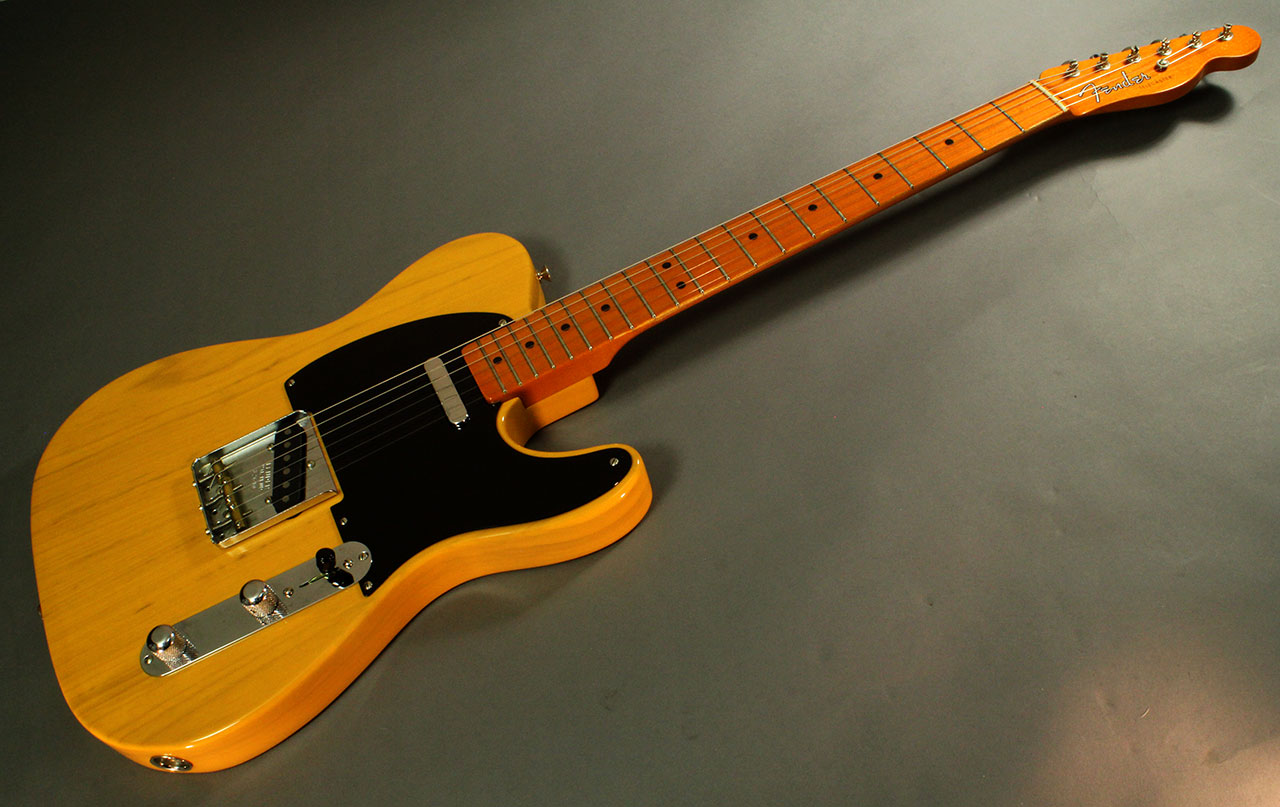 A modern reissue of a 1952 Telecaster