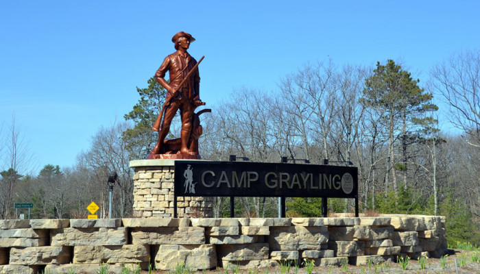 Camp Grayling is the main training facility for the Michigan National Guard and is the largest National Guard training facility in the United States.
