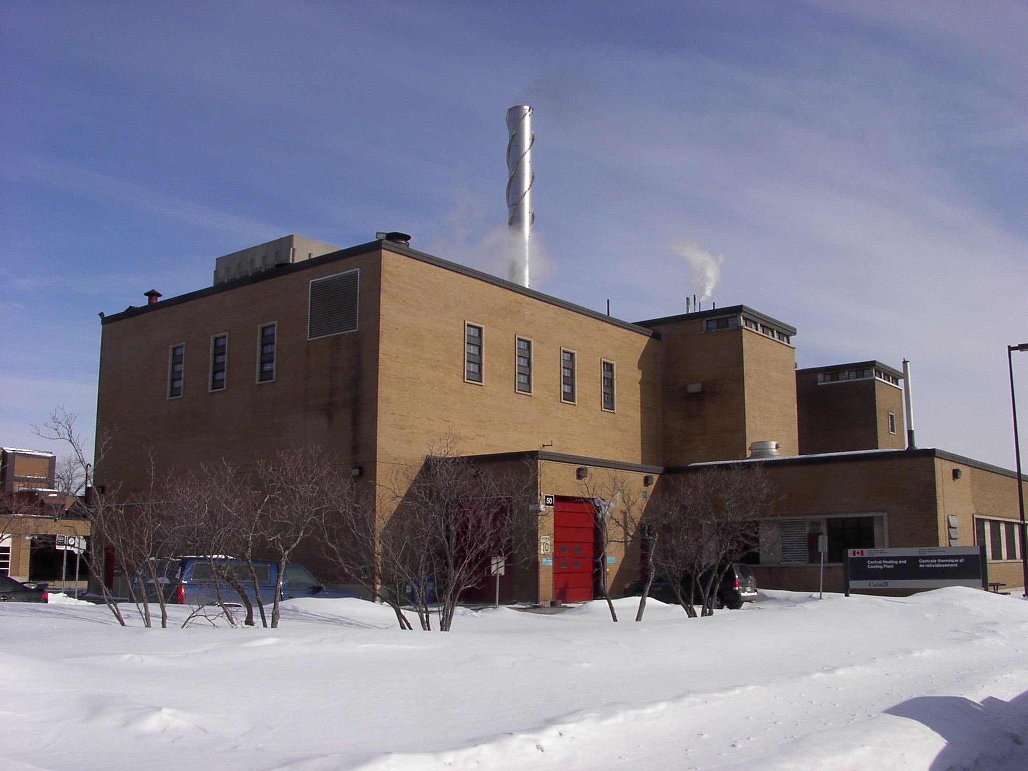 Heating & Cooling Plant - Ottawa, ON.