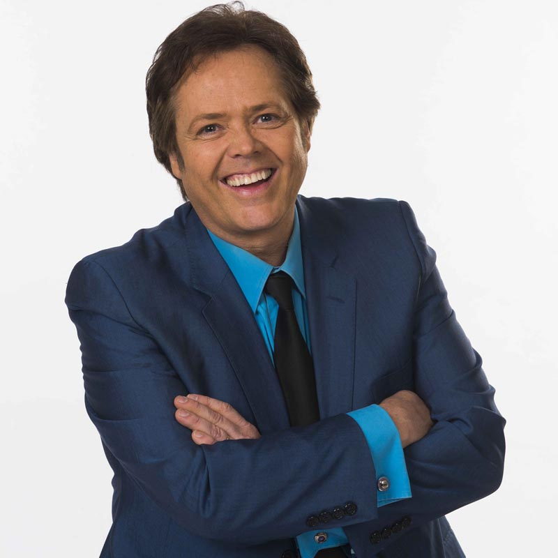 Jimmy Osmond will pay tribute to Andy Williams at St David's Hall