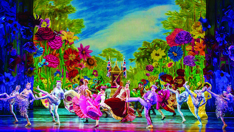 The colourful Jolly Holiday sequence from Mary Poppins at Wales Millennium Centre