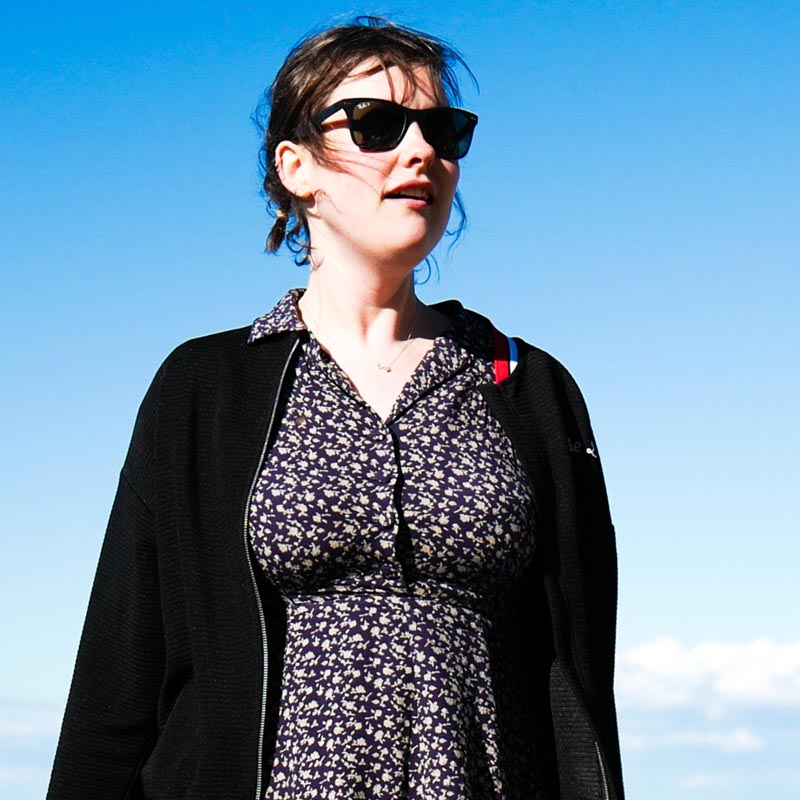 Josie Long pictured by Phil Chambers
