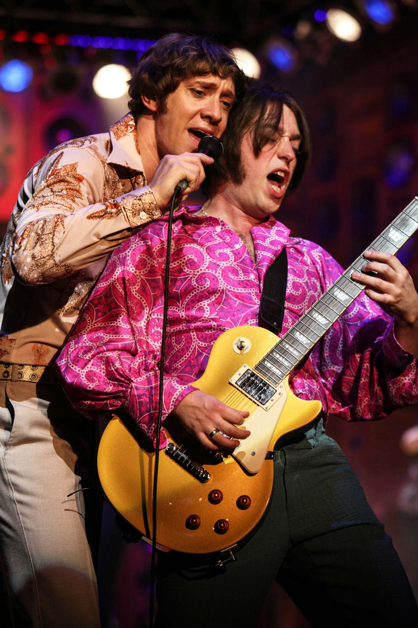Ryan O Donnell and Mark Newnham as Ray and Dave Davies in Sunny Afternoon