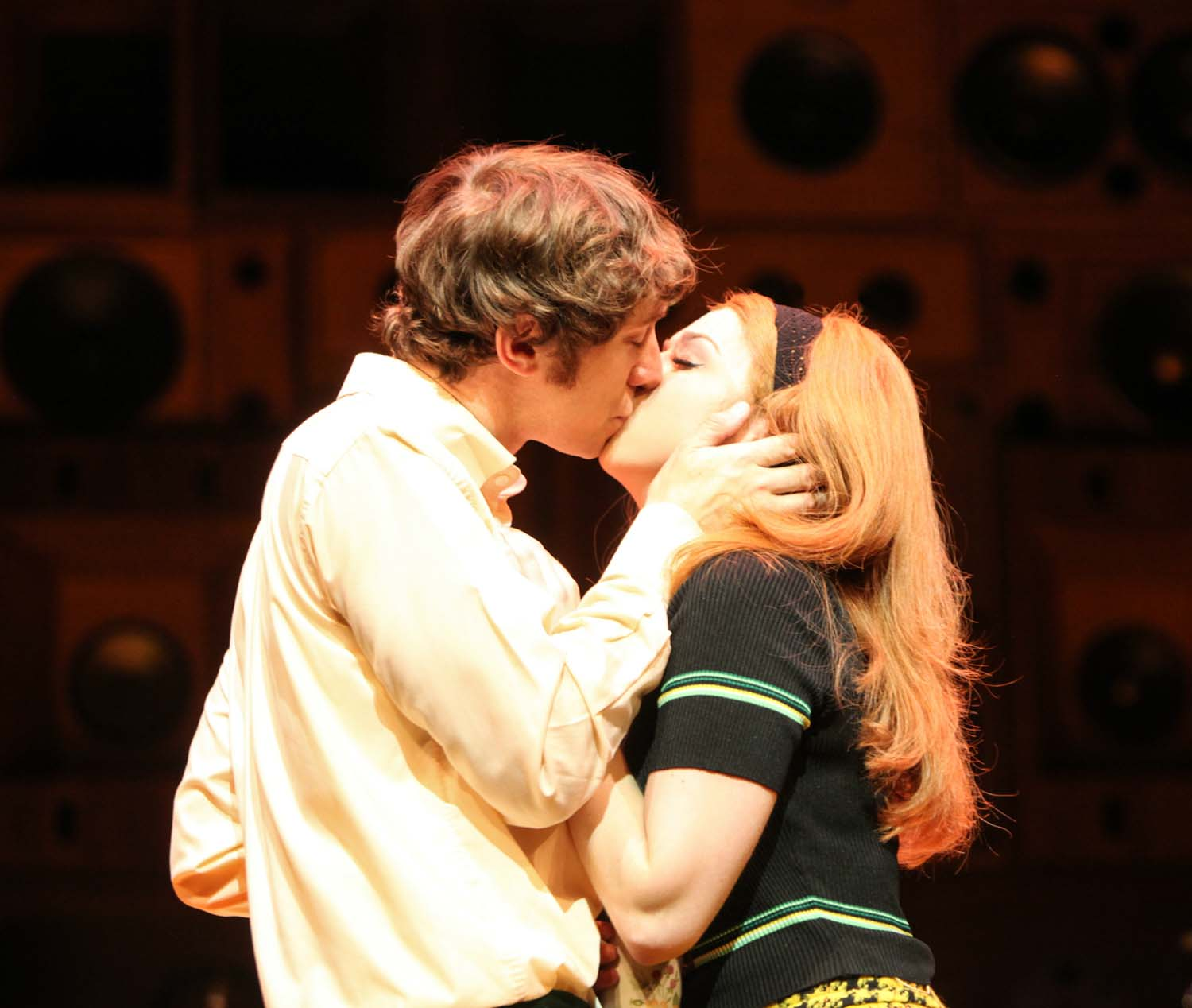 Ryan O Donnell and Lisa Wright as Ray and Rassa in Sunny Afternoon
