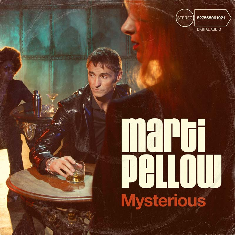 Marti Pellow's new album, Mysterious