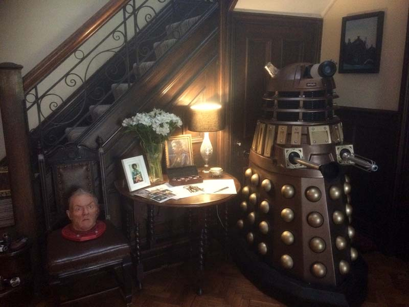 Doctor Who prpps pictured at the Fields House location for Knock Knock. PIcture: Andy Howells
