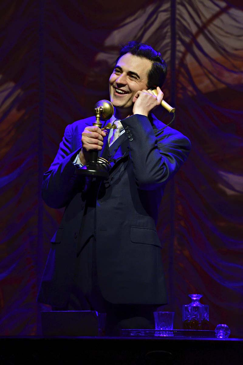 Darius Campbell stars opposite Sheridan Smith in Funny Girl at Wales Millennium Centre