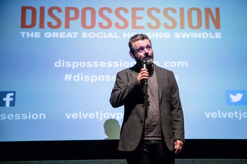 Michael Sheen at Chapter Arts Centre, Cardiff Photo: Simon Ayre