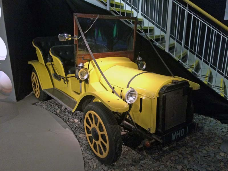 Doctor Who's roadster, Bessie