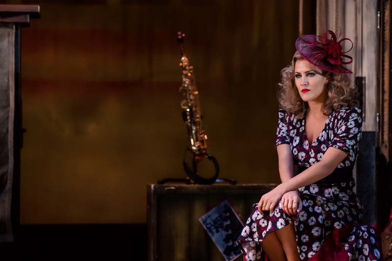 Caroline Flack in Crazy For You Picture: Richard Davenport