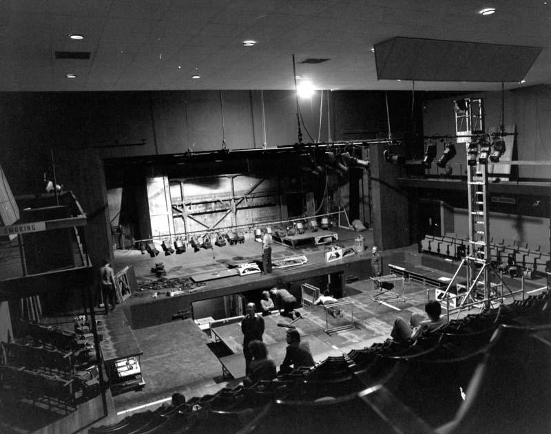 The Dolman Theatre's auditorium in the 1970s. Photo: Dolman Archive