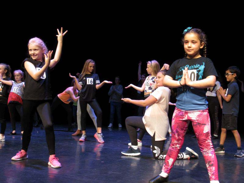 Youngsters audition for supporting spots in Newport Riverfront's Christmas panto, Aladdin