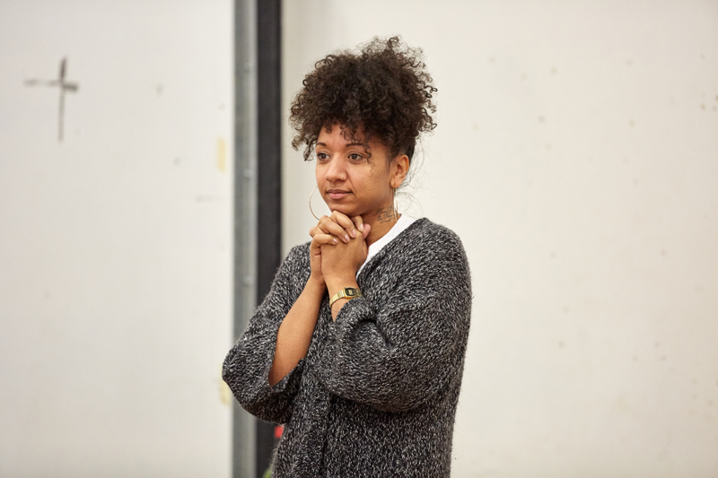 Alexandria Riley stars in The Cherry Orchard at The Sherman Theatre, Cardiff Photos: Mark Douet