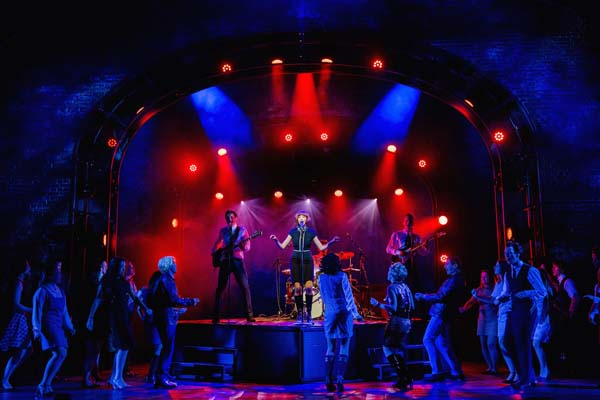 The Cavern Club is one of many scenes recreated for Cilla The Musical