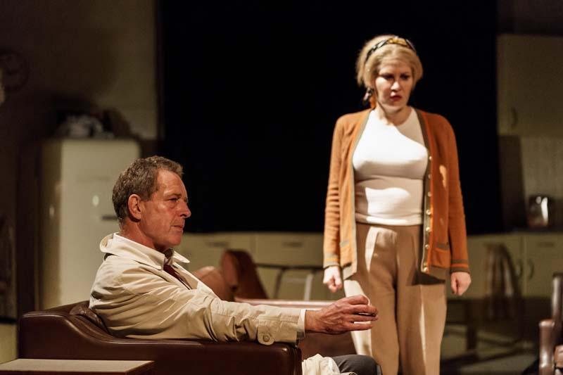 Karina Jones with Jack Ellis in Wait Until Dark which will play Cardiff's New Theatre.. Photo: Manuel Harlan.