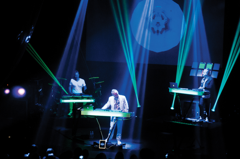 Howard Jones will bring his Electric show to Cardiff Picture: David Conn