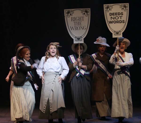 Vikki Bebb in the recent Tiger Bay - The Musical at Wales Millennium Centre